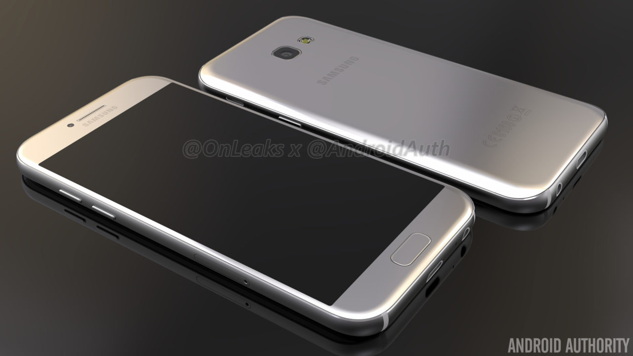 Galaxy A5 (2017) do të jetë një kopje e dizajnit të Galaxy S7-tës