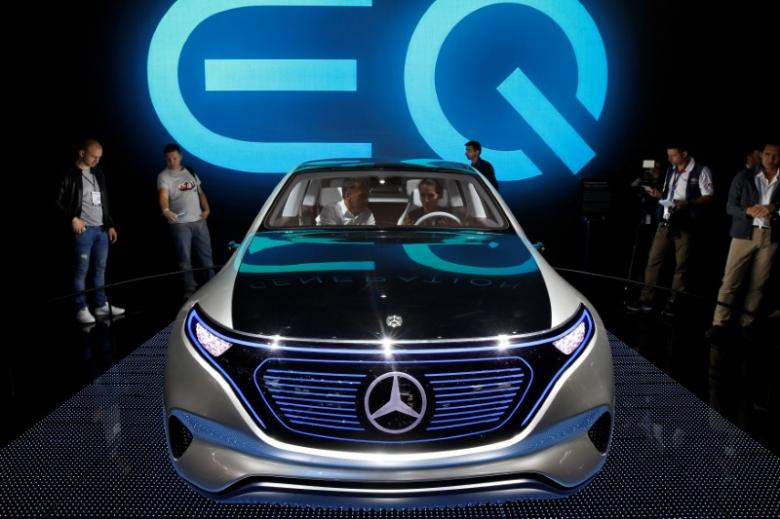 Mercedes do të prodhojë makinat e para plotësisht elektrike brenda 2020-tës