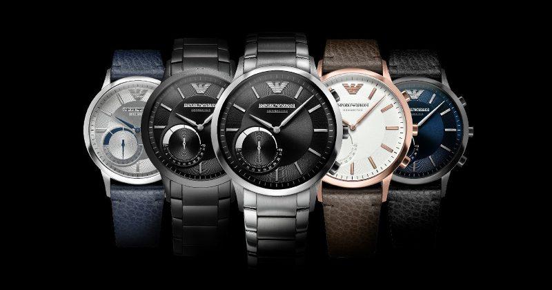Gjigandi i modës Armani hyn në industrinë e orëve inteligjente me një linjë orësh hibride