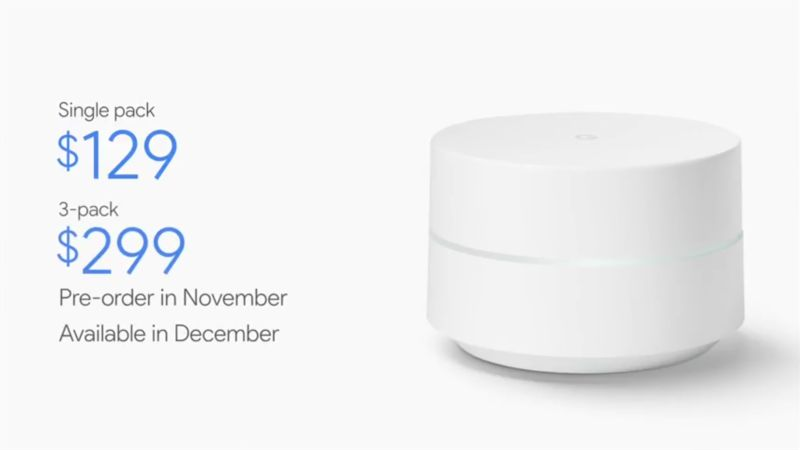Google Wi-Fi, përpjekja e dytë e Google në industrinë e paisjeve të rrjetit