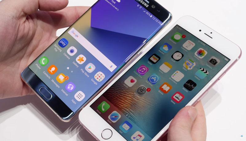 Gjysma e përdoruesve të Note 7-tës do të blejnë një iPhone 7 zbulon anketa e IDC-së