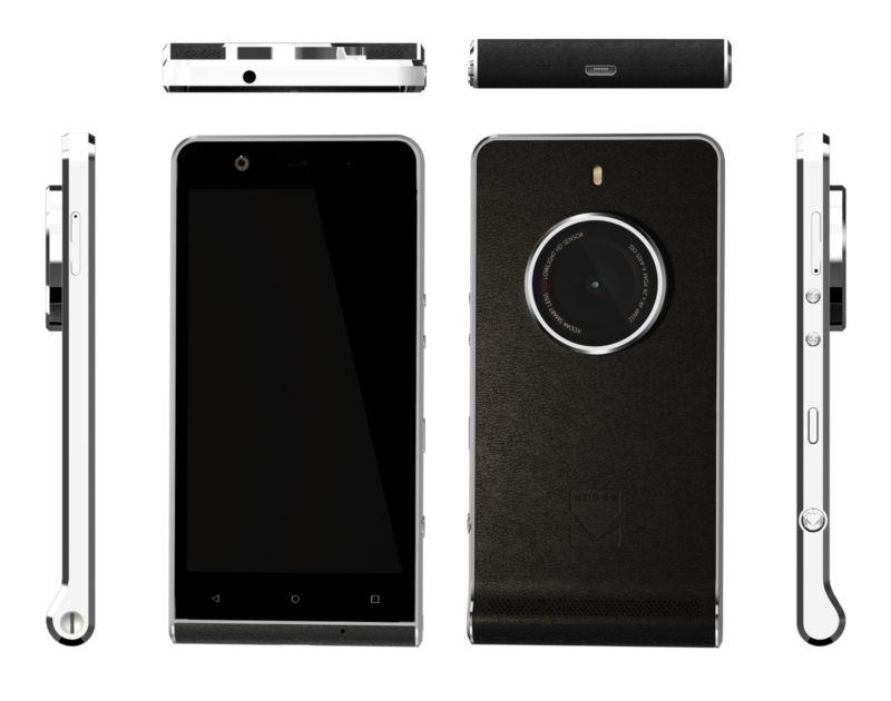 Kodak Ektra, një telefon për fotografët por hardueri thotë të kundërtën