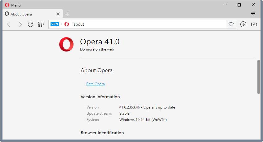 Opera lançoi versionin 41 të shfletuesit për platformat desktop, më shumë performancë