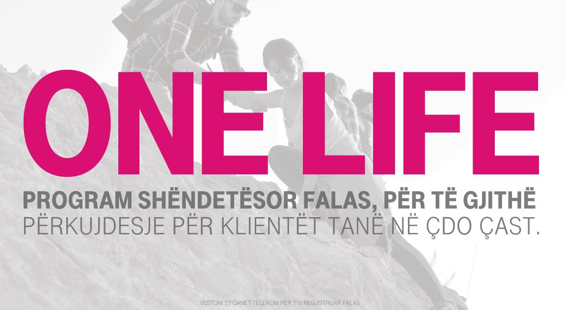 Programi shëndetësor One Life i Telekom Albania tashmë me një partneritet të ri, Spitalin Amerikan