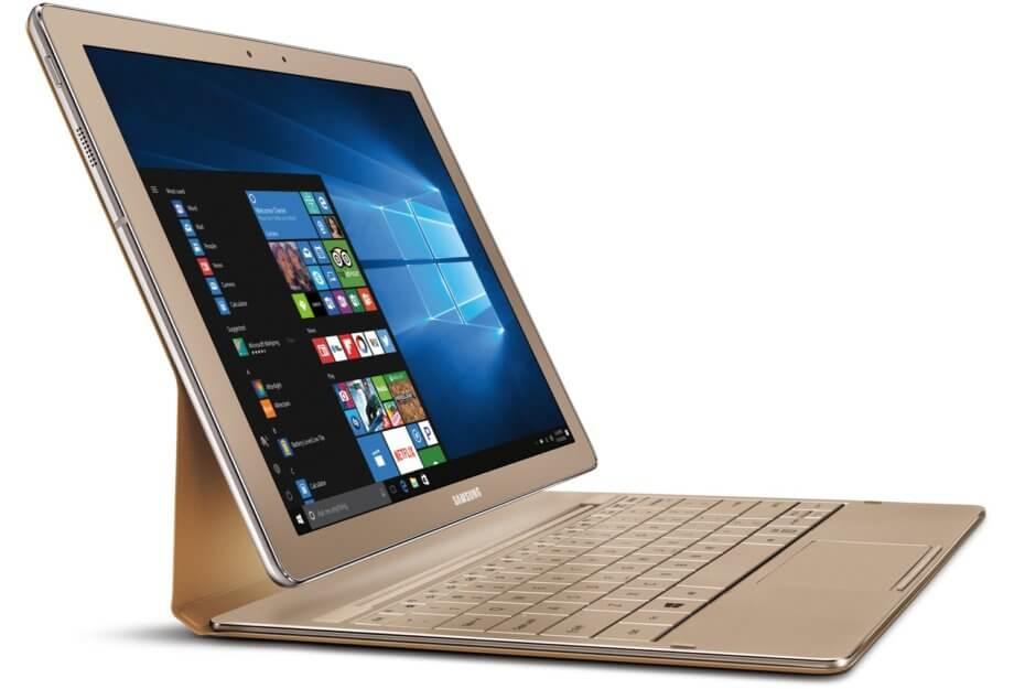 Samsung lançoi një model të ri të tabletit TabPro S në ngjyrë të artë me dyfishin e memorjes