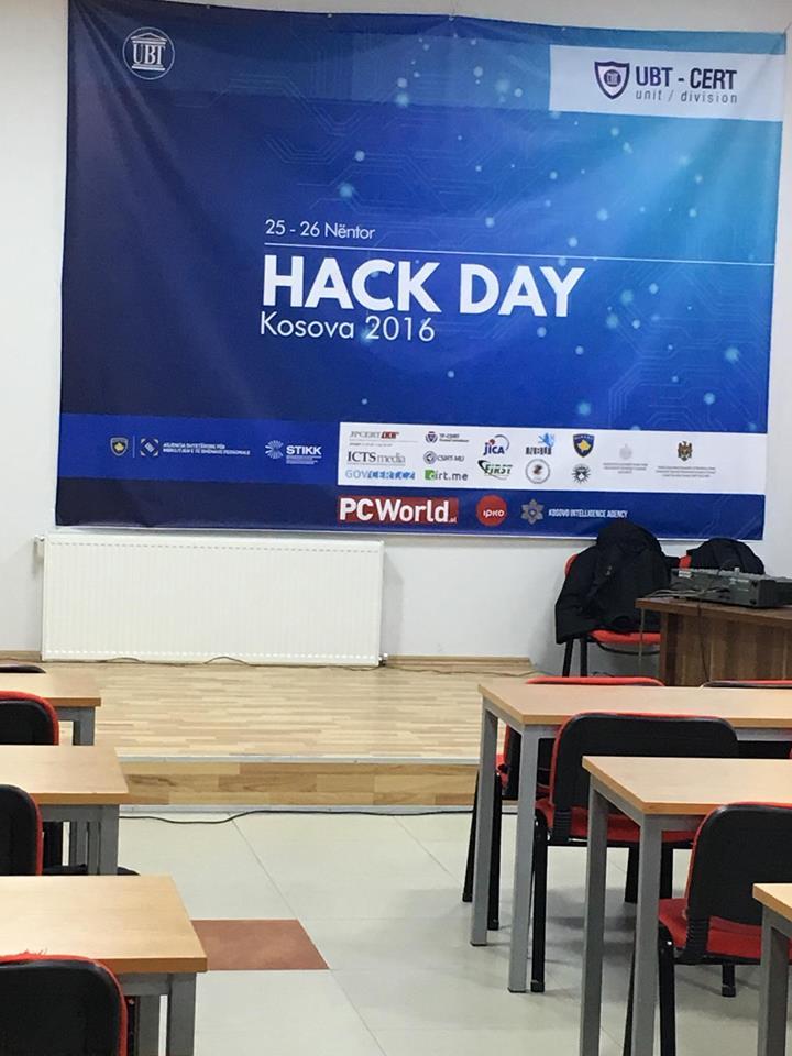 Mbahet sot në Prishtinë aktiviteti për siguri Kibernetike, Hack Day Kosova 2016