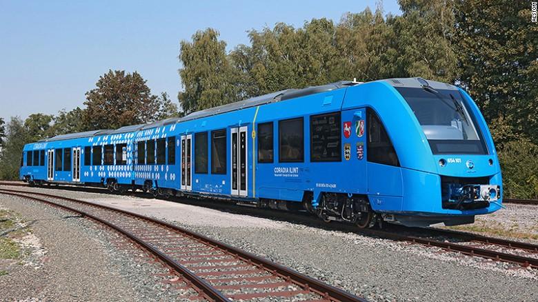 Gjermania prodhon trenin e parë me zero emëtime në atmosferë