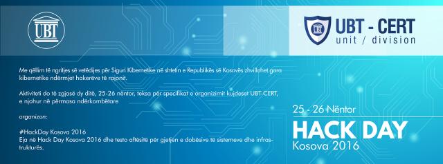 """Interesim i madh për garën """"Hack Day Kosova 2016"""""""