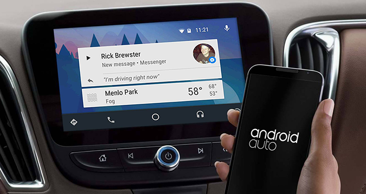 Facebook integron Messenger në Android Auto