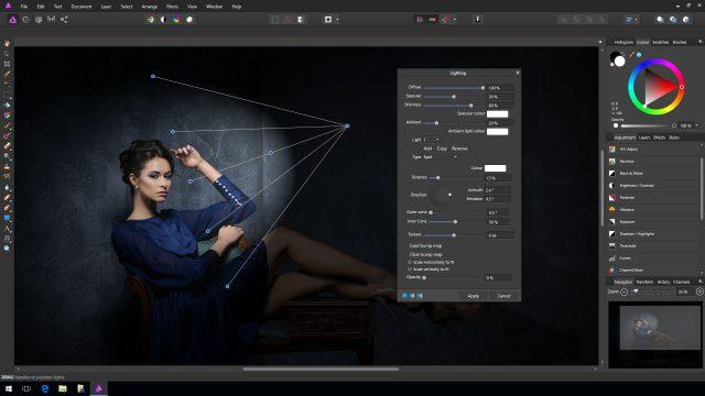 Affinity Photo mbërrin në kompjuterat Windows