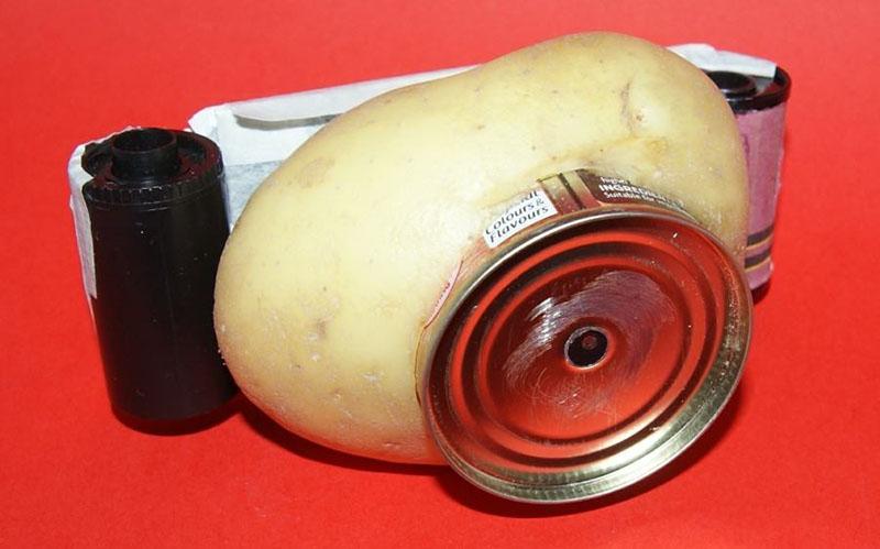 Ja fotografi i cili ka ndërtuar një aparat fotografik nga një patate