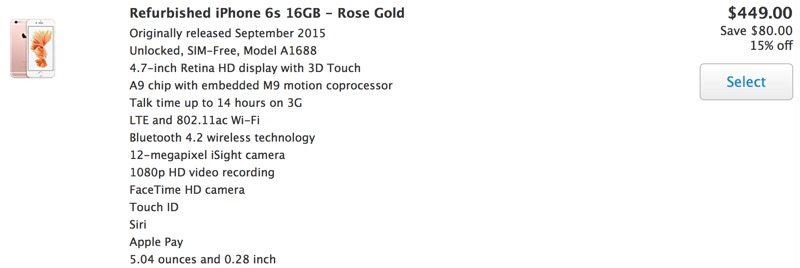 Apple shet iPhone të ripërtërirë deri në 120 dollar më lirë sesa modelet e reja
