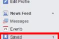 Ja sesi të ruani përmbajtjet në rrjetin social Facebook