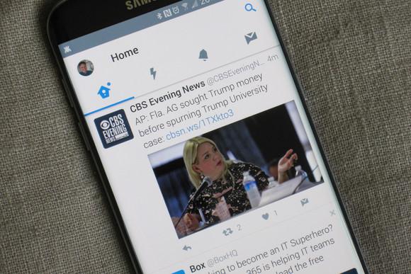 Versioni Alpha i aplikacionit Twitter në Android përfiton nga avantazhet e Nougat 7.1