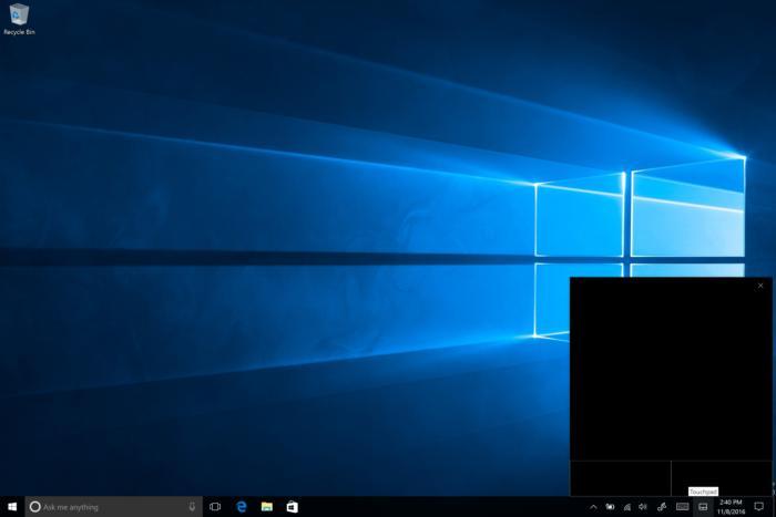 Ndërtimi 14965 i Windows 10-tës sjell një touchpad virtual