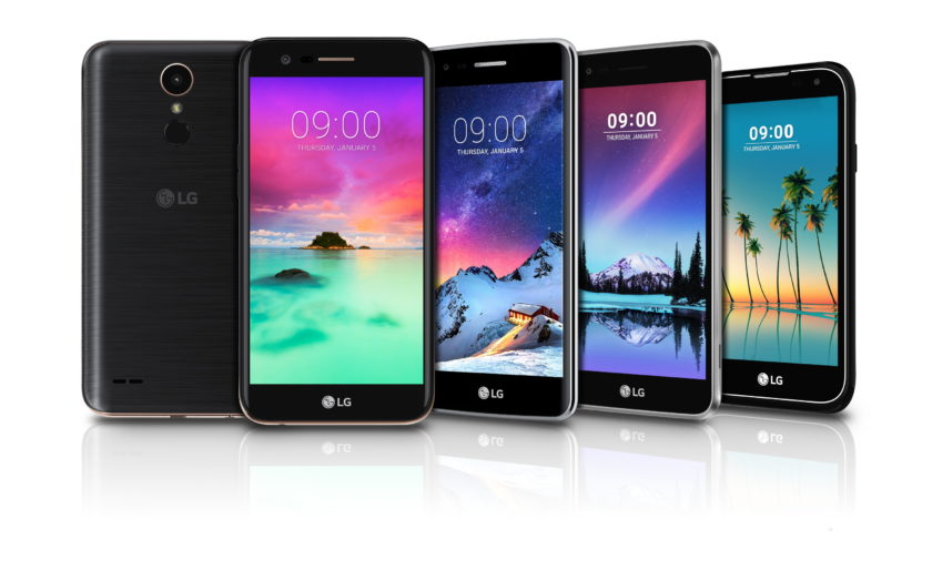 LG prezantoi telefonët K3, K4, K8, K10 dhe phabletin Stylus 3