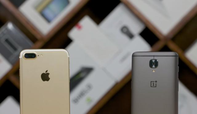 Test shpejtësie: OnePlus 3T kundër iPhone 7 Plus