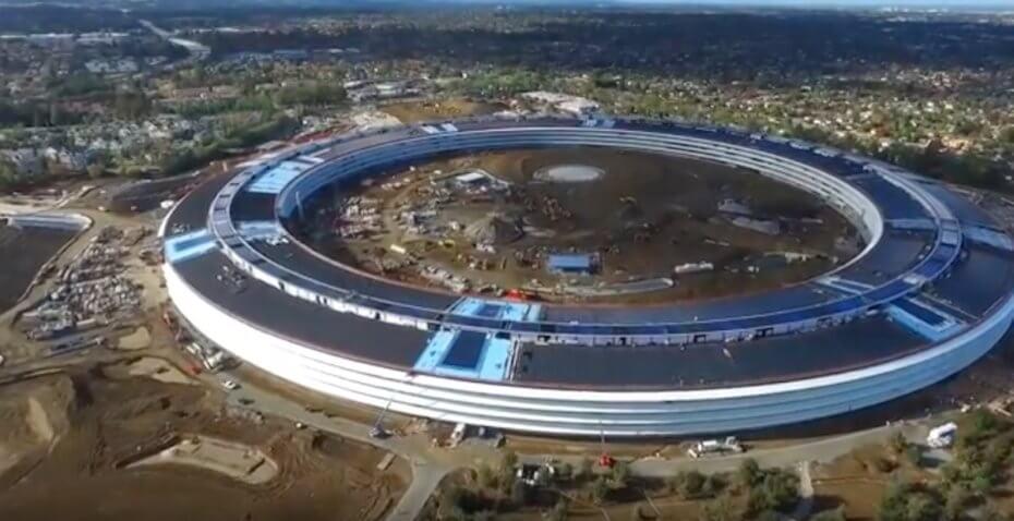 Kampusi i Apple merr formë, finalizohet në tremujorin e parë të 2017 (Video)