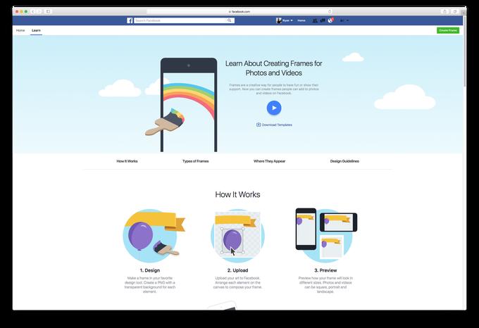 Krijoni korniza për fotot e profilit me veçorinë më të re të Facebook