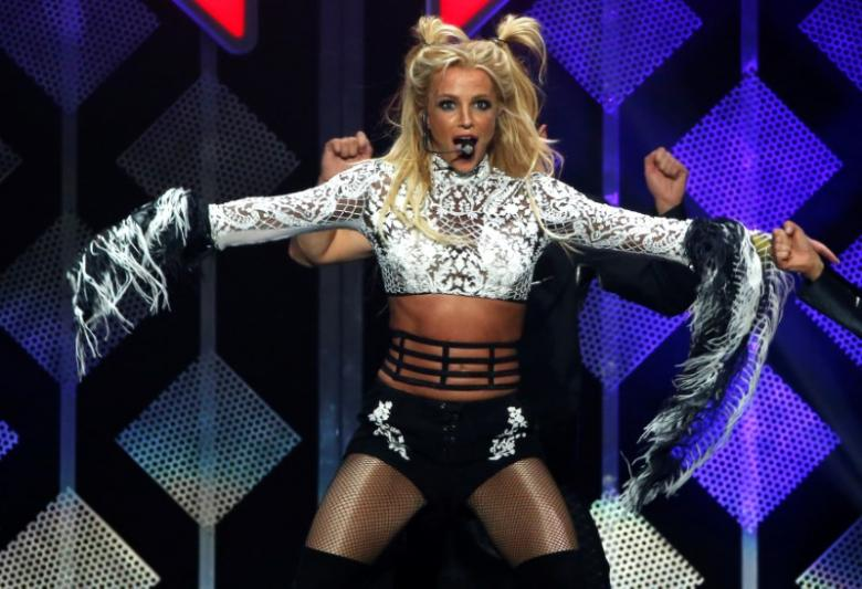 Spears performs at iHeartRadio Jingle Ball concert at Staples Center in Los Angeles