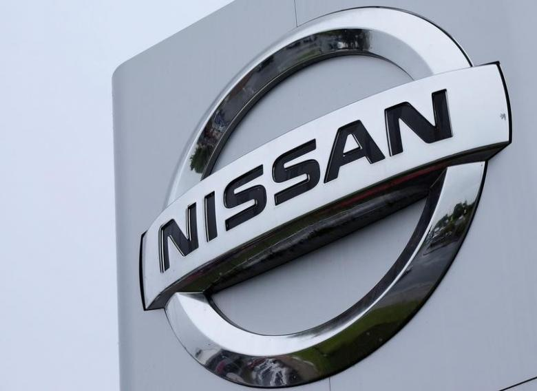 File photo of a Nissan logo pictured at a car dealership in Sunderland
