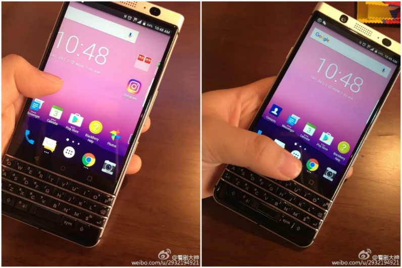Publikohen imazhe të telefonit të fundit ndërtuar nga BlackBerry