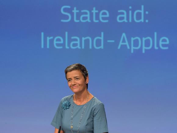 Apple apelon vendimin e Komisionit Europian për taksat