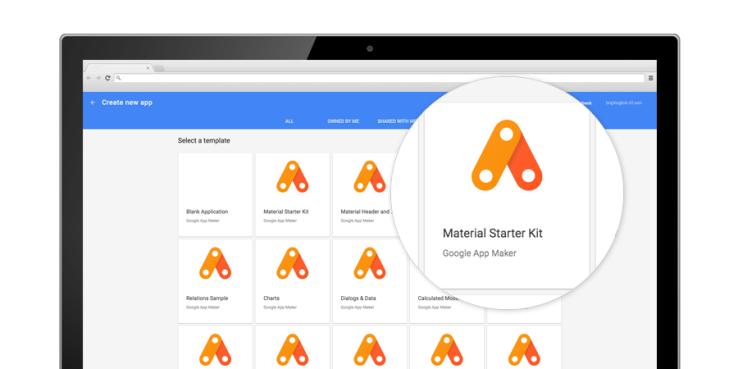 Google lançoi App Maker për zhvillimin me lehtësi të aplikacioneve për sipërmarrjet