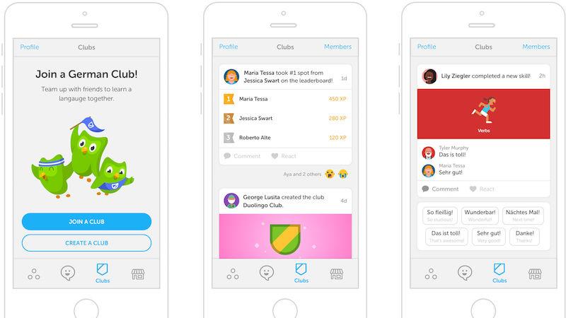 """Duolingo shton """"klubet"""" për të bërë mësimin e gjuhëve më konkurrues"""