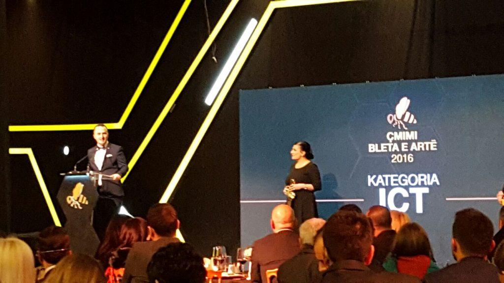 """Albanian ICT Awards sipërmarrja e vitit në ICT në edicionin e katërt të """"Bleta e Artë"""""""
