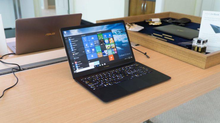 Laptopi super i hollë Asus Zenbook 3 Deluxe fuqizohet nga procesorë Kaby Lake