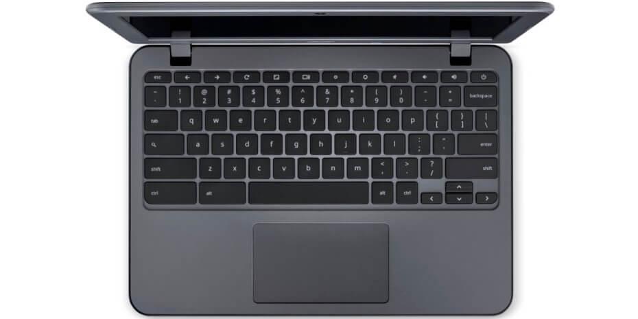 Acer Chromebook 11 N7 është një laptop Chrome OS me 12 orë jetëgjatësi baterie