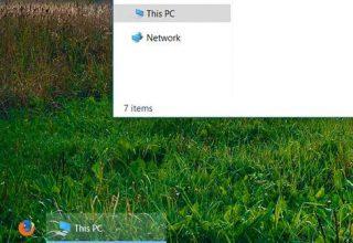 Ja sesi të bëni Taskbar-in plotësisht transparent në Windows 10
