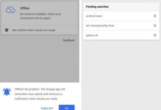 """Google implementon kërkimin """"offline"""" në aplikacionin Google për Android"""