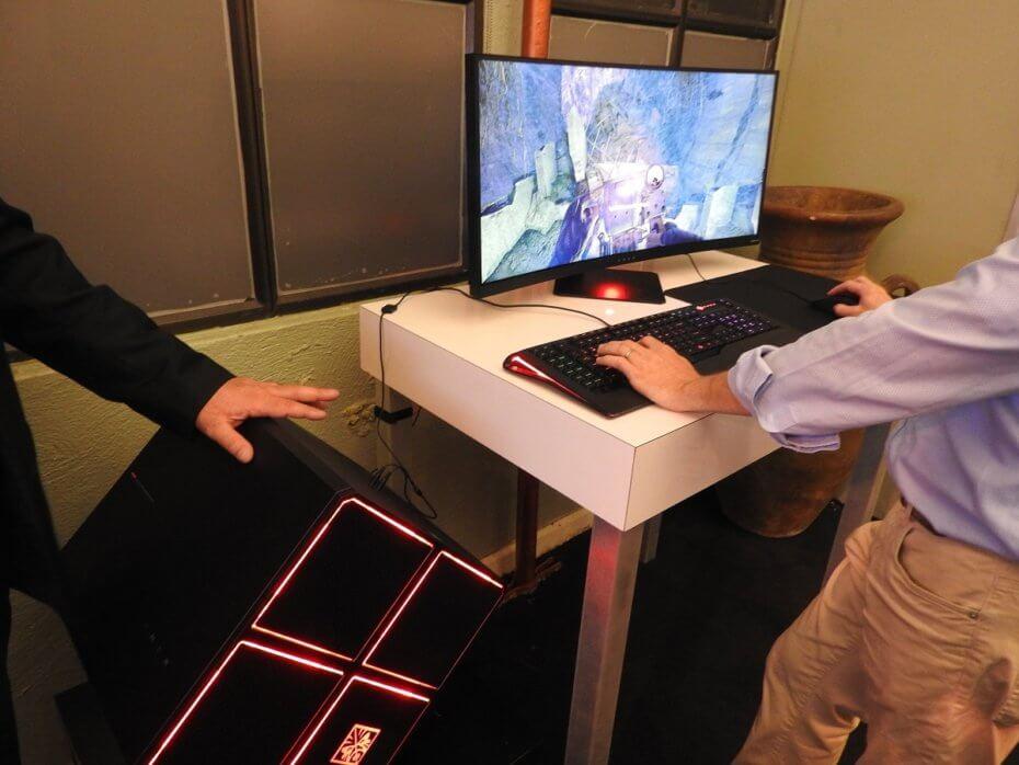 HP zbuloi Omen X, një ekran i lakuar 35 inç për adhuruesit e lojërave