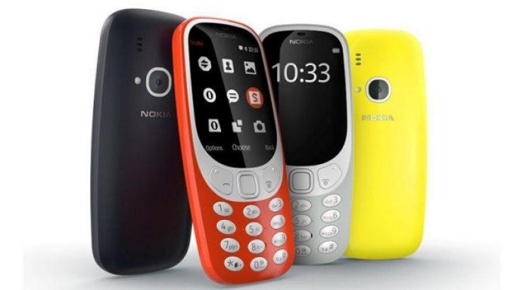 Ringjallet telefoni legjendar Nokia 3310