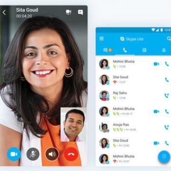 Microsoft prezantoi Skype Lite për zonat me lidhje interneti të kufizuar