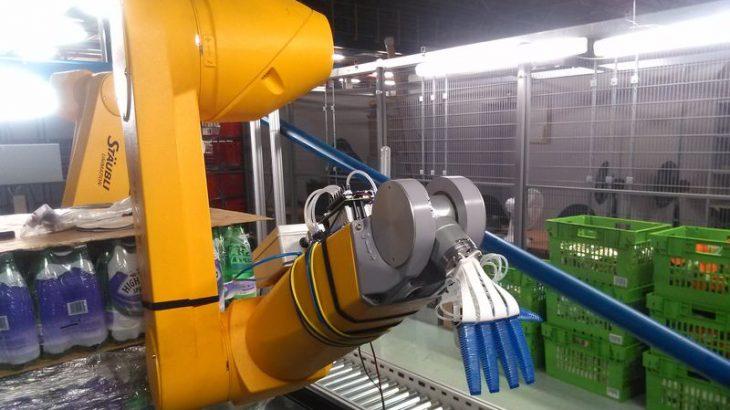 Krahu robotik Ocado i cili është i aftë që të kapë frutat