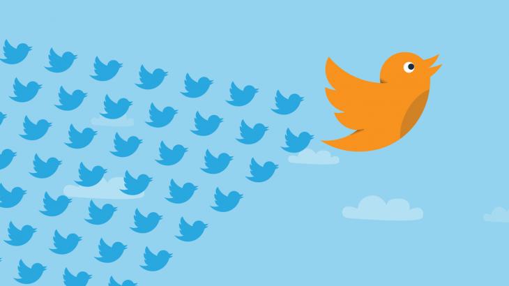 Ja sesi të pastroni listën e llogarive të ndjekura në Twitter me një klikim