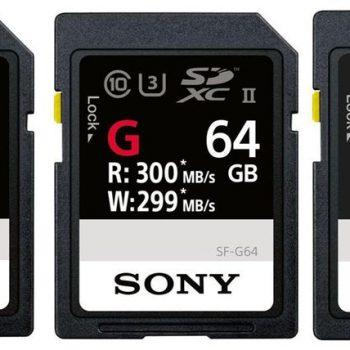Sony SF-G, karta SD më e shpejtë prodhuar ndonjëherë