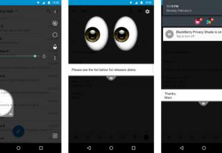 BlackBerry mbron telefonin tuaj nga sytë kuriozë