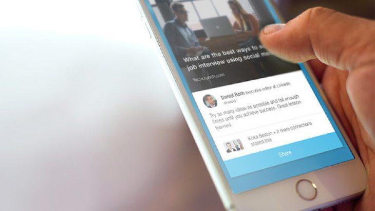 Rrjeti social Linkedin vjen me një aplikacion të ri quajtur, Elevate
