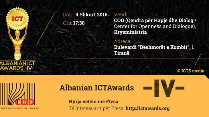 Më 4 shkurt në Tiranë, evenimenti i parë i Albanian ICT Awards 4