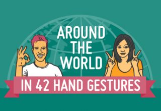 Kuptimi i gjesteve të duarve në vende të ndryshme të botës (Infografik)
