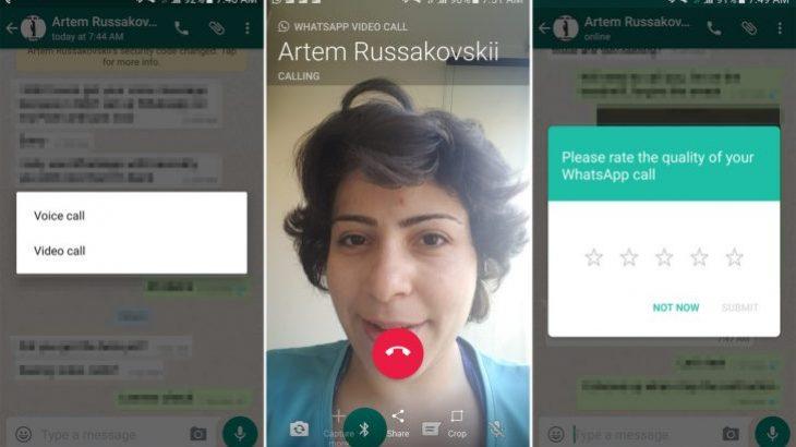 WhatsApp debutoi video thirrjet në versionin beta të aplikacionit