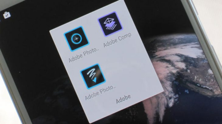 Adobe lançoi tre aplikacione të reja në Android, Photoshop Fix, Comp CC dhe Sketch