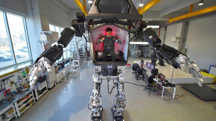 Një kompani robotike e Koresë së Jugut ka ndërtuar një robot të vërtetë
