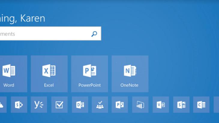 Microsoft rifreskon Office.com me ikona dhe ndërfaqe të re