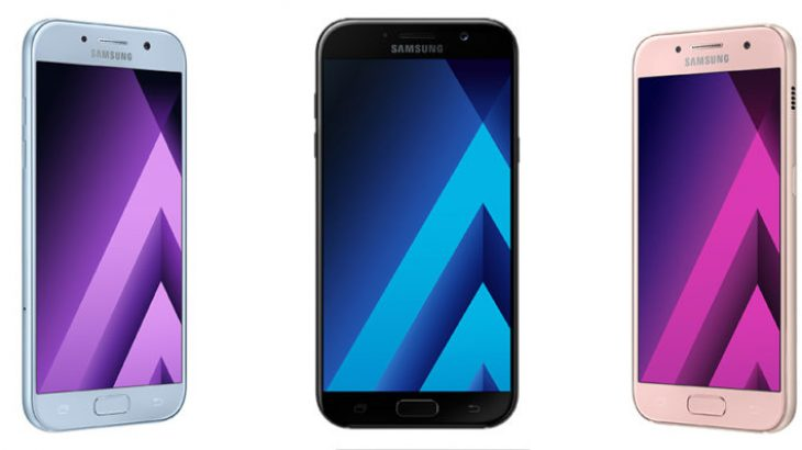 Samsung prezantoi modelet e 2017-tës për familjen Galaxy A